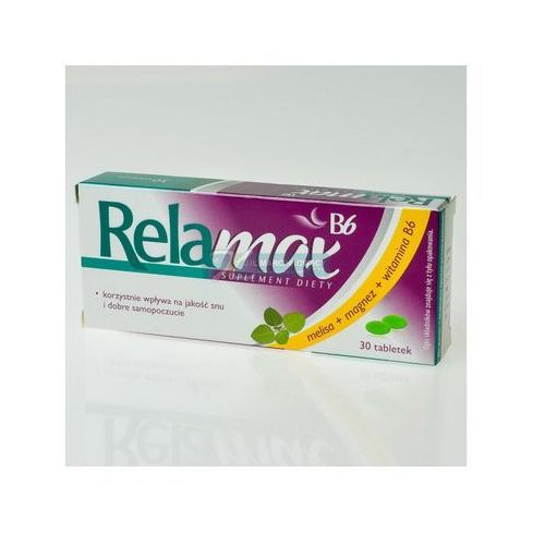 Tabletki Relamax b6 x 30 tabl powl