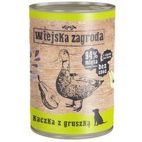 Wiejska zagroda kaczka z gruszką 400g karma w puszce dla psów (5906874201428)