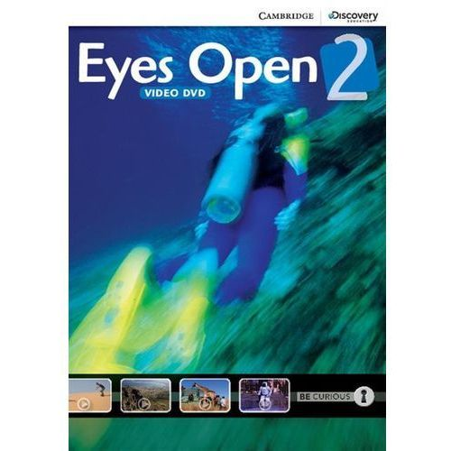 Cambridge university press Eyes open 2 video dvd (płyta dvd)