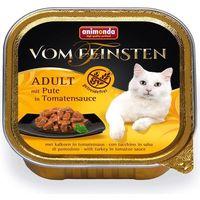 vom feinsten classic cat smak: indyk w pomidorowym sosie 6x100g marki Animonda