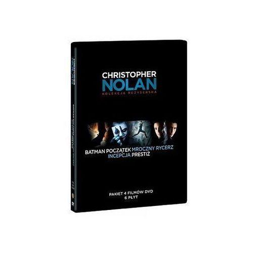 Film pakiet reżyserski christopher nolan (6 dvd: batman początek, mroczny rycerz, prestiż, incepcja) Galapagos