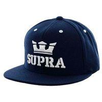 czapka z daszkiem SUPRA - Above Snap Navy/White (NWT) rozmiar: OS