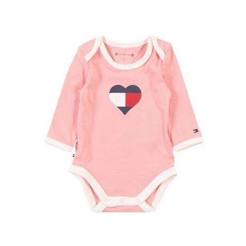 Tommy hilfiger śpiochy/body 'baby tommy body l/s' różowy (8719858511256)