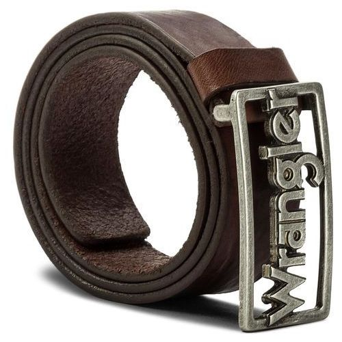 03beecd2760ffa Pasek męski - retro buckle w0b55u185 100 brown (Wrangler) - sklep ...