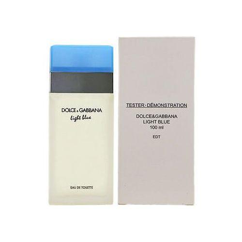 Dolce & gabbana light blue, woda toaletowa – tester, 100ml