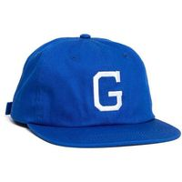 czapka z daszkiem GRIZZLY - Coliseum G Polo Strapback Blue (BLU)