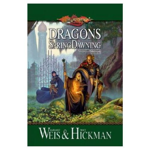 Dragons of Spring Dawning Book 3 Dragonlance Chronicles, oprawa miękka