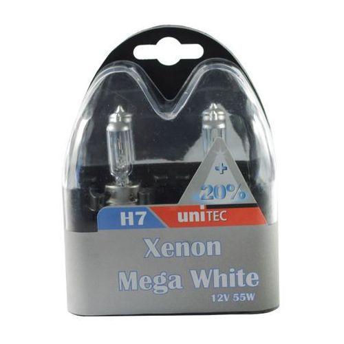 Żarówki h7 xenon marki Unitec
