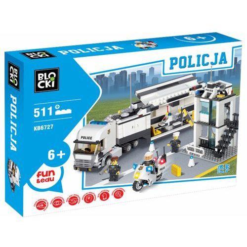 Klocki Blocki Policja Centrum dowodzenia 511 elementów