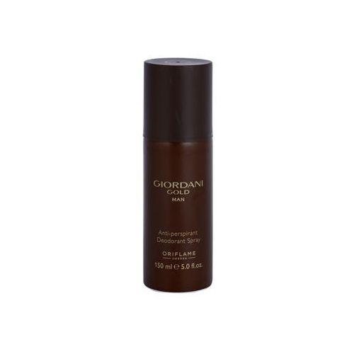 Oriflame  giordani gold man dezodorant w sprayu dla mężczyzn 150 ml + do każdego zamówienia upominek.