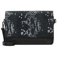 Cowboysbag Bag Onyx Torba z paskiem na ramie skórzana 27 cm snake black/white ZAPISZ SIĘ DO NASZEGO NEWSLETTERA, A OTRZYMASZ VOUCHER Z 15% ZNIŻKĄ