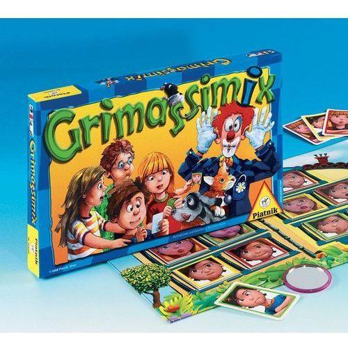 Piatnik Grimassimix - gra dla najmłodszych (9001890783043)