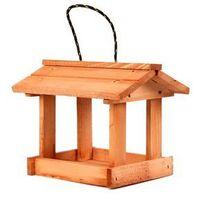 Tin tours Drewniany karmnik dla ptaków 24x20x20h cm (5907633263909)