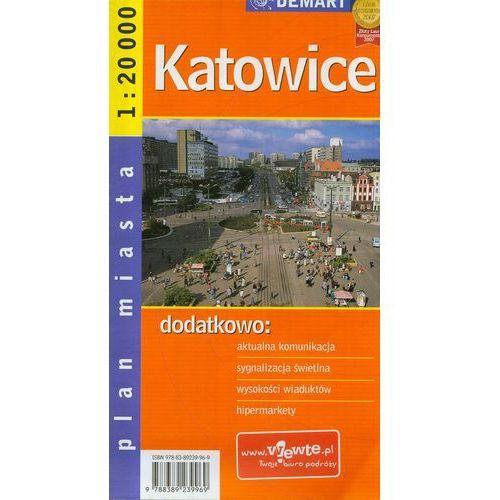 Katowice plan miasta - Praca zbiorowa (2 str.)