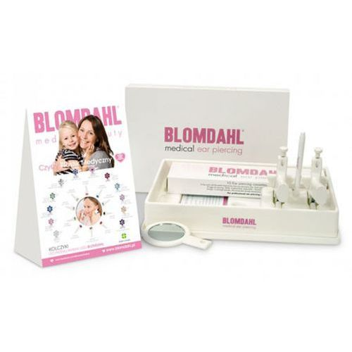 medical ear piercing zestaw do przekłuwania obu uszu jednocześnie marki Blomdahl