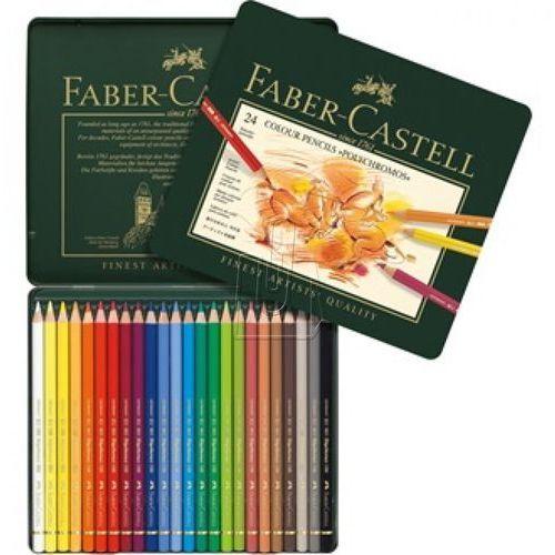 Kredki polychromos 24 kol. marki Faber castell