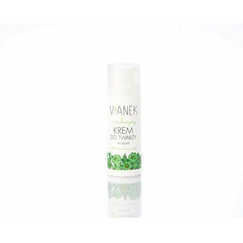Energizing matujący krem na dzień do skóry normalnej i mieszanej z ekstraktem z kory wierzby 50 ml Vianek