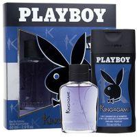 king of the game m zestaw perfum edt 60 ml + żel pod prysznic 250 ml marki Playboy