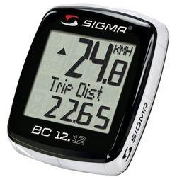 02120 licznik rowerowy bc 12.12 przewodowy, pl menu, z termometrem marki Sigma