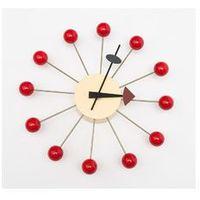 D2design Zegar kulka (czerwony) d2