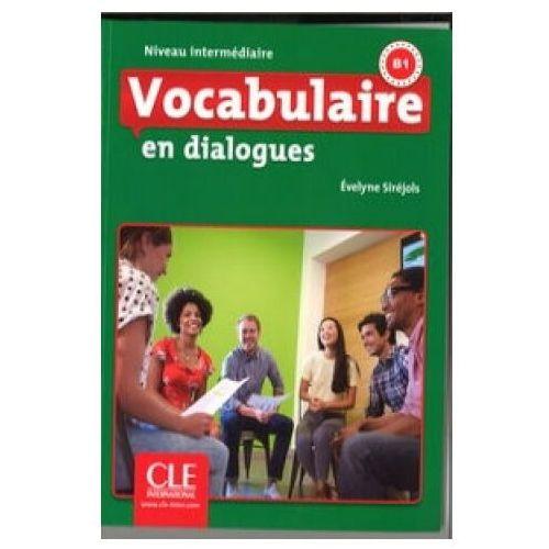 Vocabulaire en dialogues Niveau intermediaire + CD - Evelyne Sirejols (2016)