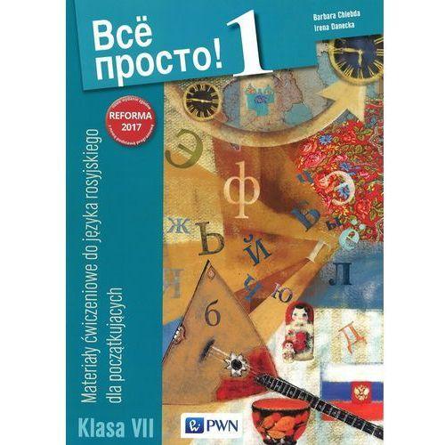 Wsio prosto! 1 Materiały ćwiczeniowe - BARBARA CHLEBDA, Irena Danecka, Wydawnictwo Szkolne PWN