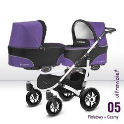 Wózki wielofunkcyjne dla bliźniaków  BABY ACTIVE BOBO RAJ