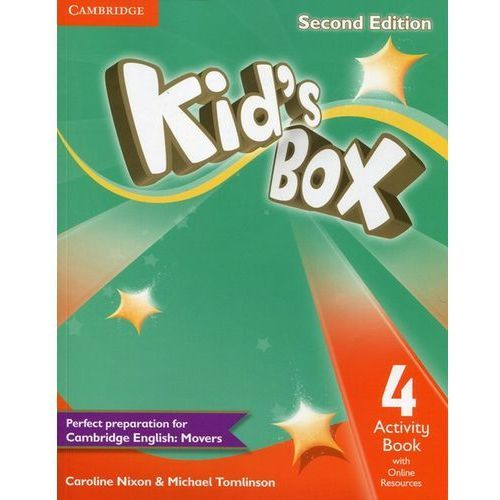 Kid's Box 4 Activity Book with Online Resources