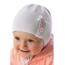 Czapka niemowlęca wiązana 5X34B1