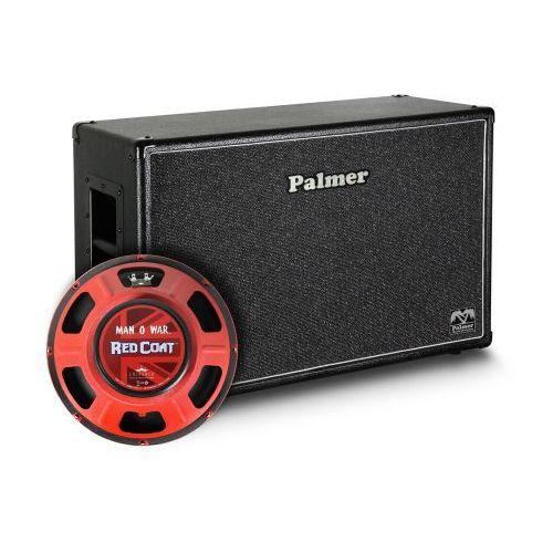 Palmer mi cab 212 mow ob kolumna gitarowa 2 x 12″ z głośnikami eminence man o war, 8/16ohm, otwarta z tyłu