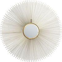 KARE Design:: Lustro Sunbeam średnica 90cm