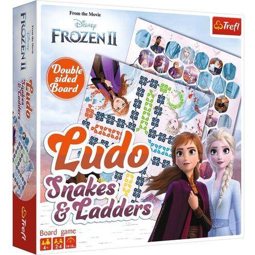 Gra Chińczyk / Węże i drabiny Frozen 2 Kraina Lodu (5900511017564)
