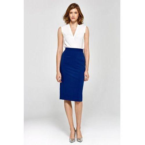 32ecda9098 Zobacz ofertę Colett spódnica zwężana ku dołowi - niebieski - csp03.  Colett. tradycyjny i prosty fason spódnicy ...