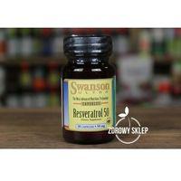 Kapsułki Swanson Resveratrol resweratrol 50mg 30 kapsułek antyoksydant