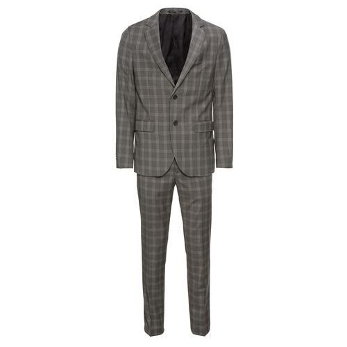 Pier One Garnitur 'formal check suit' szary (4059897015822)
