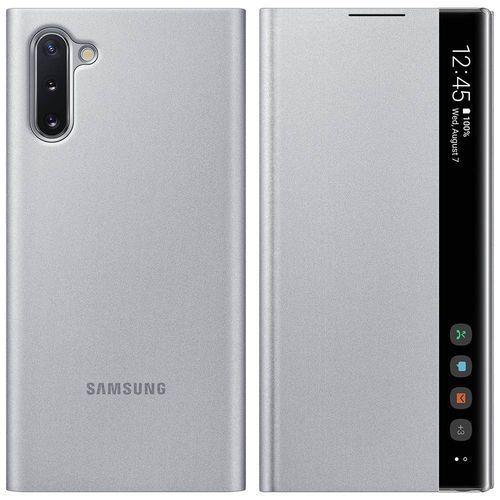 Samsung galaxy note10 clear view cover ef-zn970cs (srebrny)