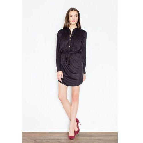c98db06dba Sukienka M454 Czarny L (Figl) opinie + recenzje - ceny w AlleCeny.pl