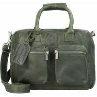 Cowboysbag Little Bag Torebka klasyczna z rączkami skórzana 31 cm dark green ZAPISZ SIĘ DO NASZEGO NEWSLETTERA, A OTRZYMASZ VOUCHER Z 15% ZNIŻKĄ
