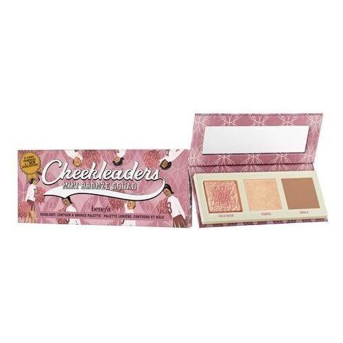 Benefit cosmetics Mini cheekleaders bronze squad - mini paleta bronzerów i rozświetlaczy - Promocja