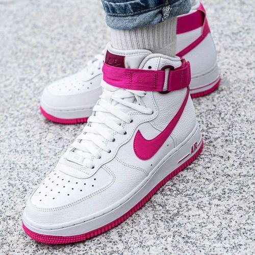 Buty sportowe damskie air force 1 high wmns (334031-110), Nike