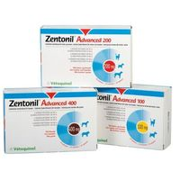 Zentonil advanced 400 mg 30 tabl. marki Vetoquinol