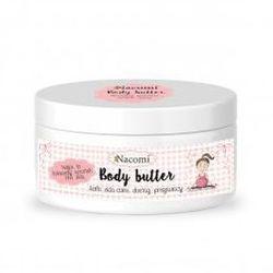 , intensywnie pielęgnujące masło do ciała dla kobiet w ciąży, 100g marki Nacomi