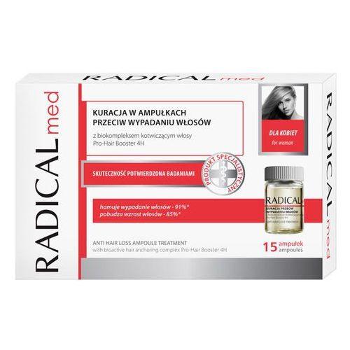 Ampułki RADICAL MED Kuracja przeciw wypadaniu włosów dla kobiet 5ml x 15 ampułek