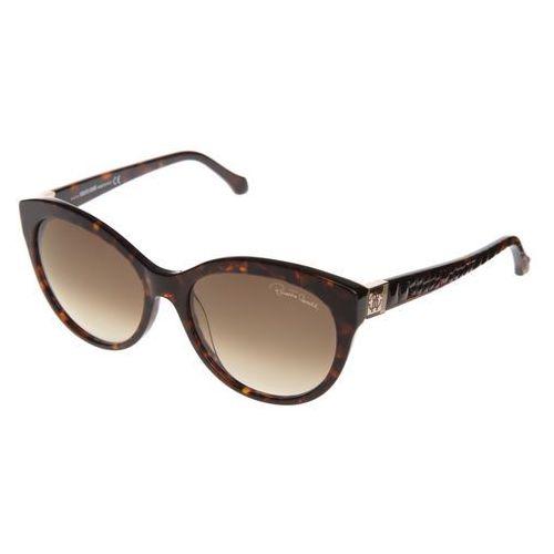 Albaldah okulary przeciwsłoneczne brązowy uni Roberto cavalli