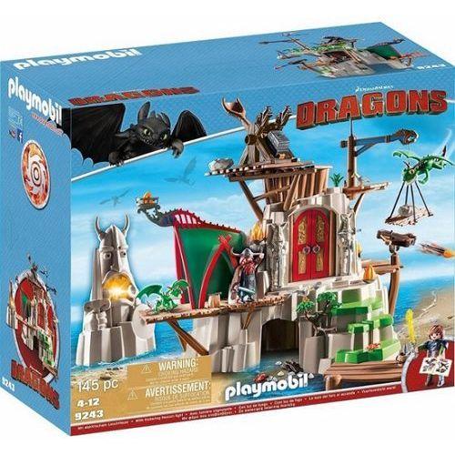 Playmobil DRAGONS Dragons wyspa berk 9243 wyprzedaż