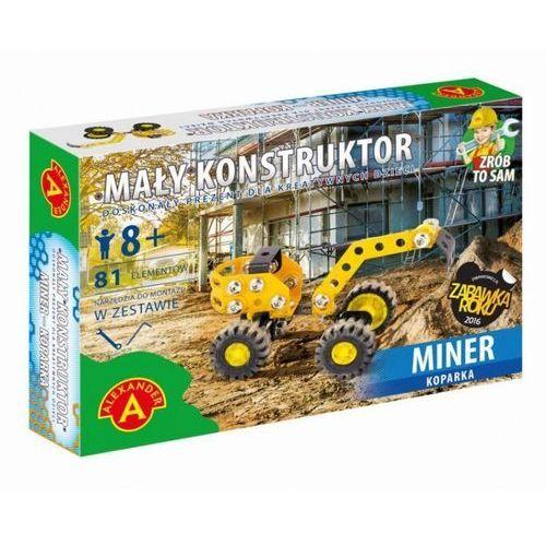 Alexander Mały konstruktor miner koparka