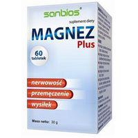 Sanbios Magnez Plus 60 tabletek (5908230845291)