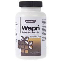 Pharmovit Wapń (cytrynian wapnia) - 180 tabletek (5902811230599)