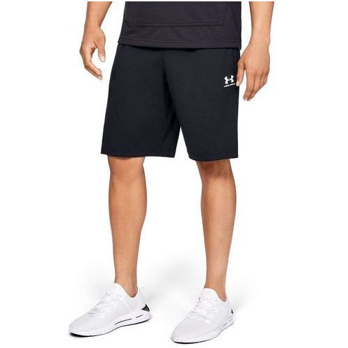 Under armour spodenki sportstyle cotton short czarne - czarny