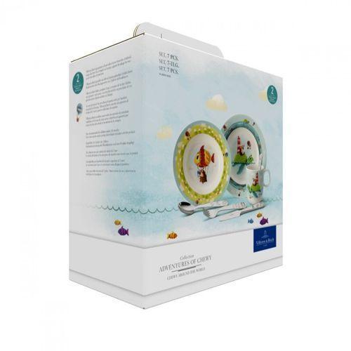 Villeroy & boch - chewy around the world zestaw dla dzieci ilość elementów: 7